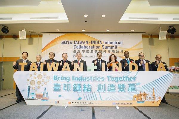 2019 Taiwan-India Industrial Collaboration Summit held in Taipei on October 17