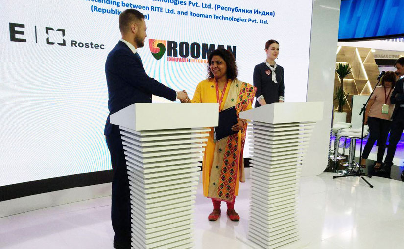 Rooman Technologies signed an MOU with a Russian Organisation Rostec